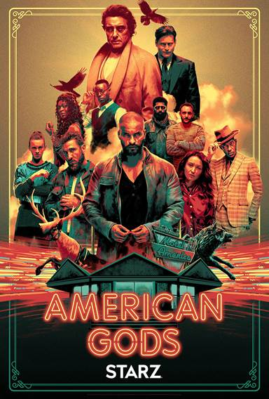 American Gods © Starz Media. All Rights Reserved.