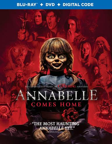 Annabelle Comes Home Blu-ray Review