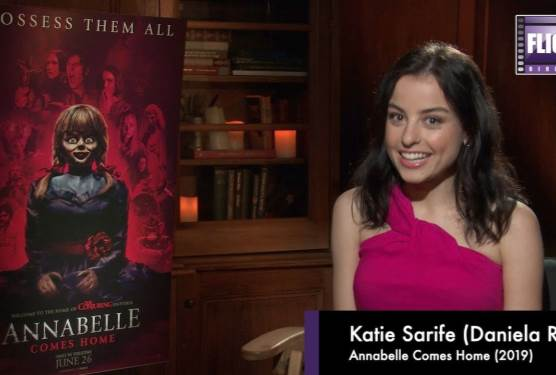 A Chat About Annabelle With Star Katie Sarife