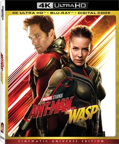 Ant-man and the Wasp 4K Ultra HD Review
