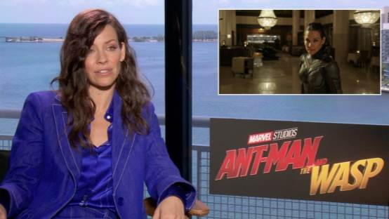 Evangeline Lilly Discusses Marvel, Michelle Pfeiffer, and Mental Preparation