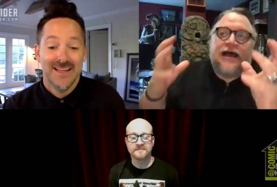 Guillermo del Toro and Scott Cooper on Antlers and Filmmaking | Comic-Con@Home 2020