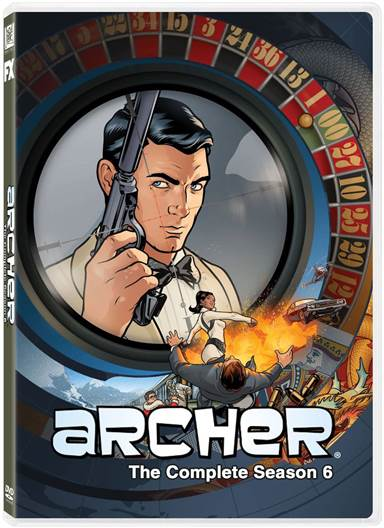 Archer: The Complete Season Six DVD Review