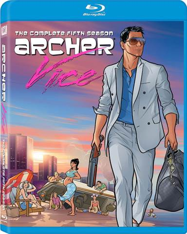 Archer: The Complete Season Five Blu-ray Review