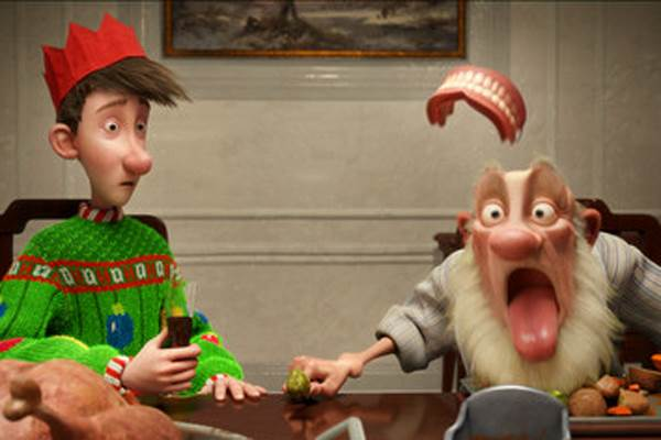 Arthur Christmas © Columbia Pictures. All Rights Reserved.