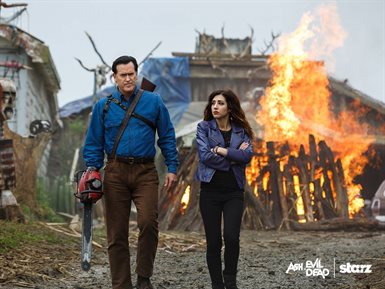 Ash vs Evil Dead © Starz Media. All Rights Reserved.