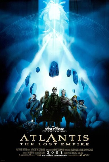 Atlantis: The Lost Empire © Walt Disney Pictures. All Rights Reserved.