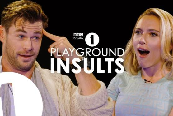 Chris Hemsworth and Scarlett Johansson Insult Each Other