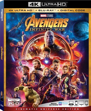 Avengers: Infinity War 4K Ultra HD Review