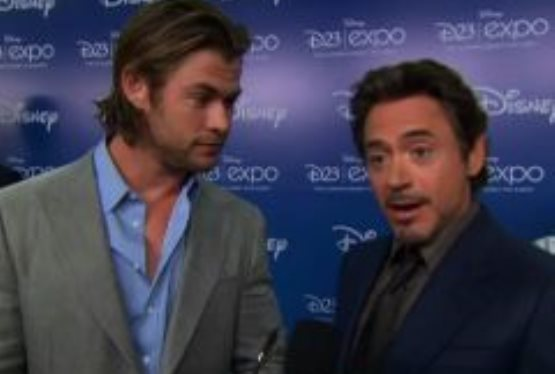Avengers D23 Expo Interview
