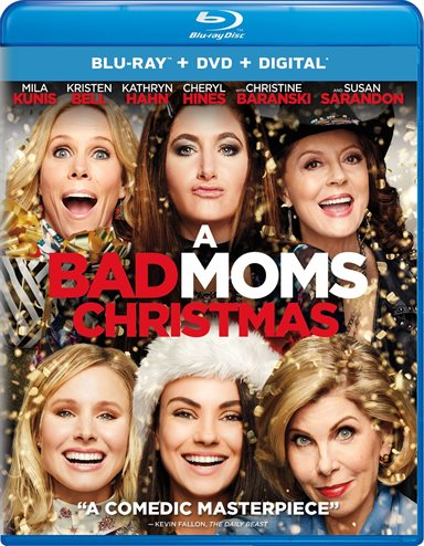 A Bad Moms Christmas Blu-ray Review
