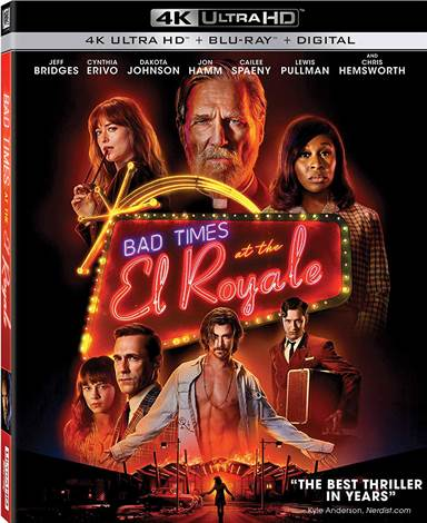 Bad Times at the El Royale 4K Ultra HD Review