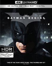 Batman Begins 4K Ultra HD Review