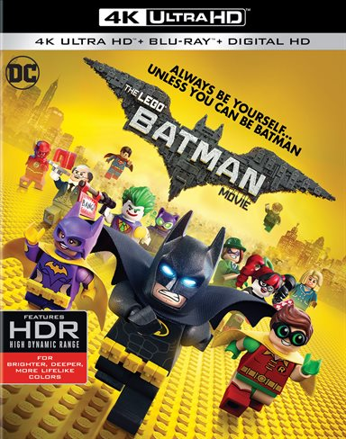 Batman Lego Movie 4K Ultra HD Review