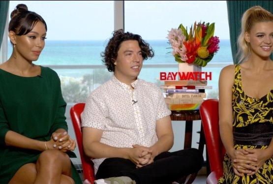 BAYWATCH EXCLUSIVE: Kelly Rohrbach, Ilfenesh Hadera, Jon Bass