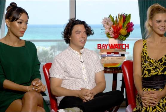 BAYWATCH EXCLUSIVE: Kelly Rohrbach, Ilfenesh Hadera, Jon Bass