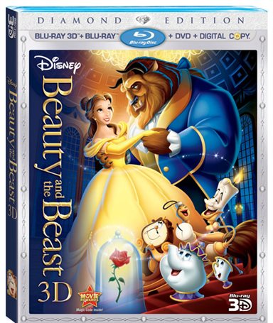 Beauty and the Beast 3D Blu-ray Review
