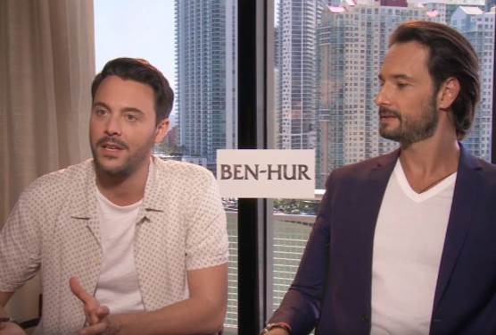 Ben-Hur Crucifixion Scene 'Intense' For Stars To Film