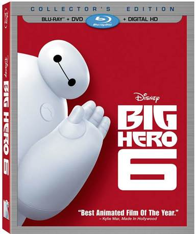 Big Hero 6 Blu-ray Review