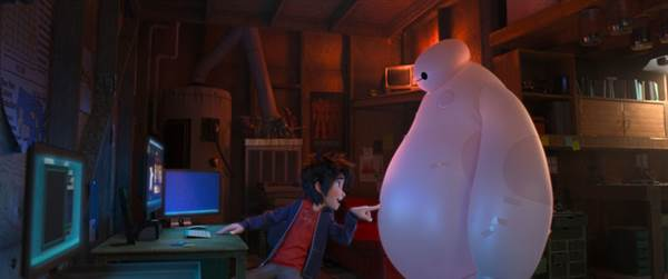 Big Hero 6 © Walt Disney Pictures. All Rights Reserved.