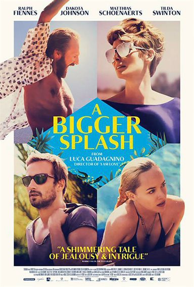 A Bigger Splash © Fox Searchlight Pictures. All Rights Reserved.