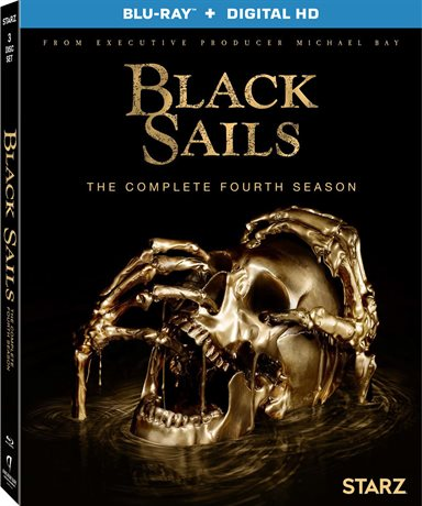 Black Sails: The Complete Fourth Season Blu-ray Review