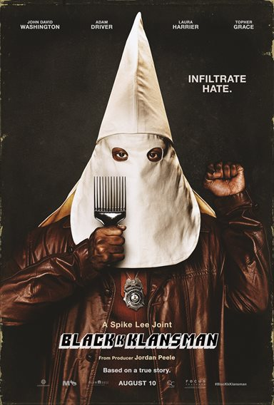 BlacKkKlansman © Focus Features. All Rights Reserved.