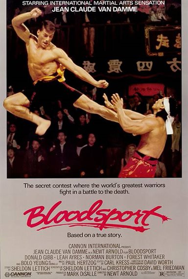 Bloodsport © Cannon Group. All Rights Reserved.