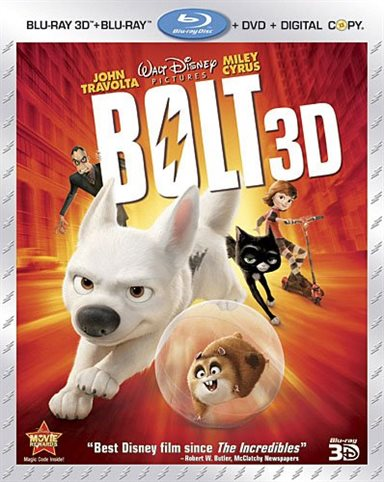 Bolt 3D Blu-ray Review