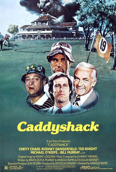 Caddyshack © Orion Pictures. All Rights Reserved.