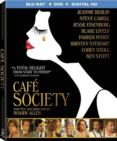 Cafe Society Blu-ray Review