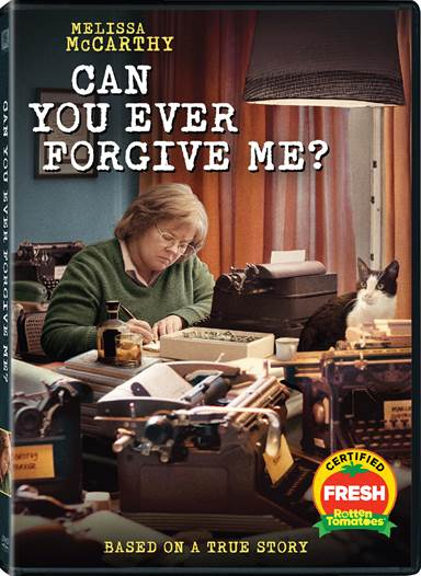 Can You Ever Forgive Me DVD Review