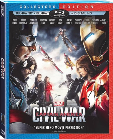 Captain America: Civil War Blu-ray Review