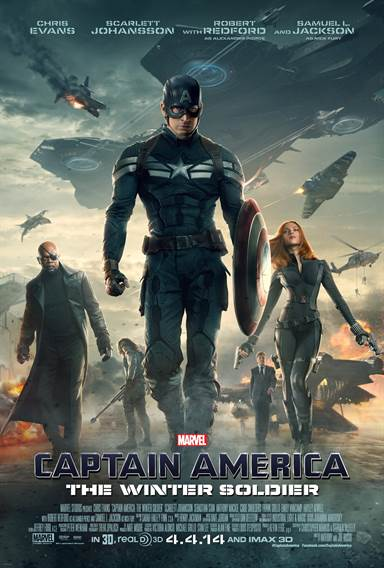 Captain America: The Winter Soldier © Walt Disney Pictures. All Rights Reserved.