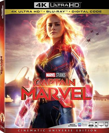 Captain Marvel 4K Ultra HD Review