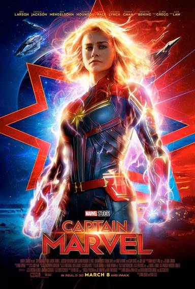 Captain Marvel Theatrical Review
