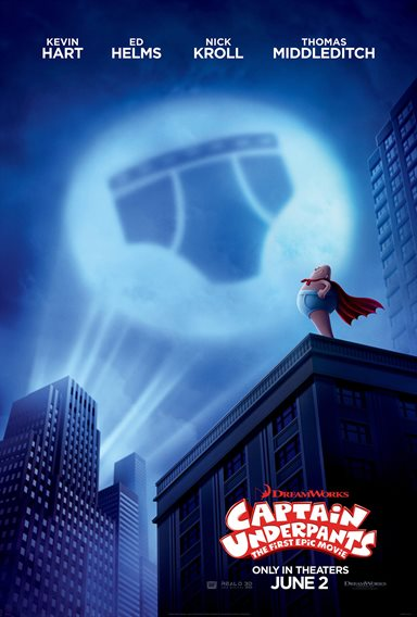 Captain Underpants: The First Epic Movie © DreamWorks Animation. All Rights Reserved.