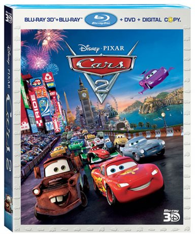 Cars 2 3D Blu-ray Review