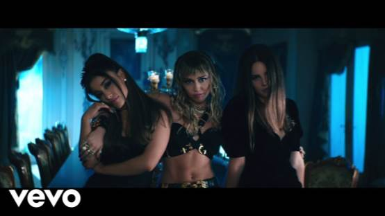 Ariana Grande, Miley Cyrus, Lana Del Rey - Don't Call Me Angel (Charlie's Angels)