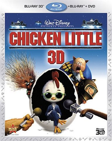 Chicken Little 3D Blu-ray Review