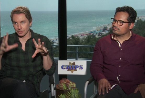 Dax Shepard and Michael Pena Talk CHiPs