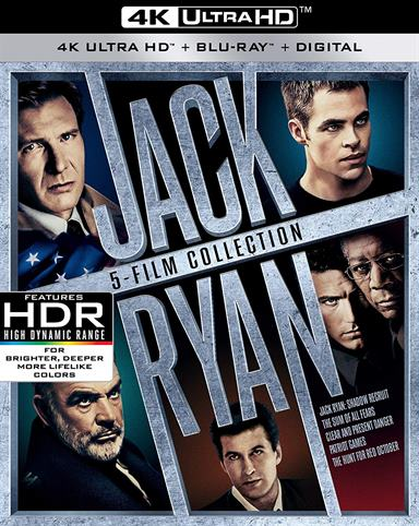 Jack Ryan 5-Film Collection UHD 4K 4K Ultra HD Review