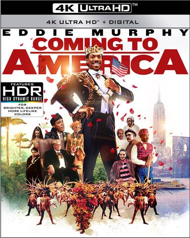 Coming to America Steelbook 4K Ultra HD Review