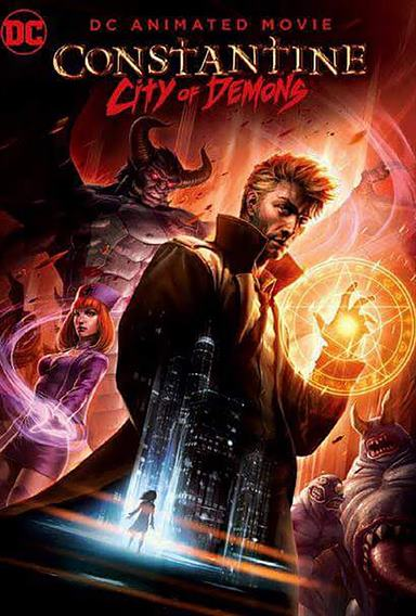 Constantine: City of Demons © Warner Bros. Animation. All Rights Reserved.