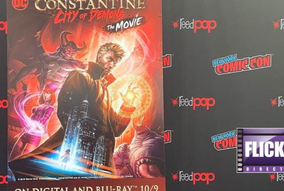 Constantine: City of Demons - The Movie Cast Talks To FlickDirect About The New Film