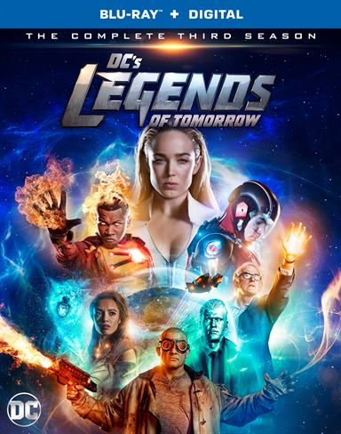 DC's Legends of Tomorrow: The Complete Third Season Blu-ray Review