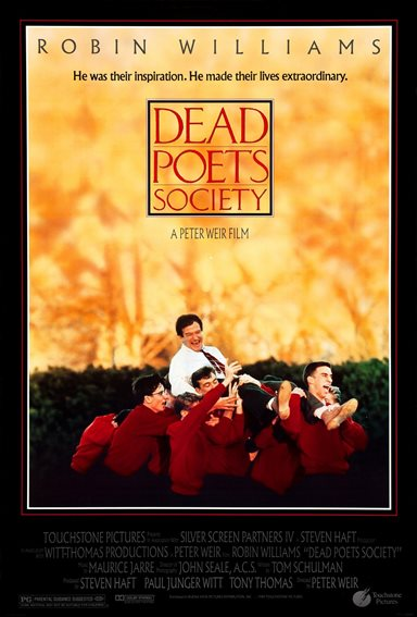 Dead Poets Society © Touchstone Pictures. All Rights Reserved.