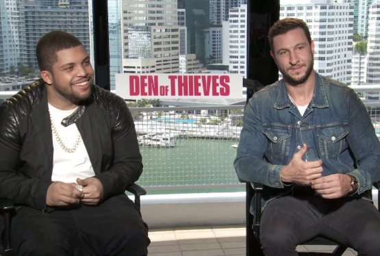 DEN OF THIEVES Interview with Stars O'Shea Jackson, Jr  & Pablo Schreiber