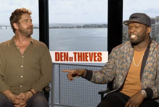 DEN OF THIEVES Interview with stars Gerard Butler & Curtis Jackson (50 Cent)