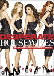 """Desperate Housewives: The Complete Eighth and Final Season Is A must for mystery lovers and a guilty pleasure for """"Desperate"""" addicts. (B) DVD Review"""